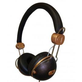 SY1225BR - AURICULARES CERRADO DJ BRONCE