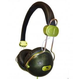SY1225VR - AURICULARES CERRADO DJ VERDE