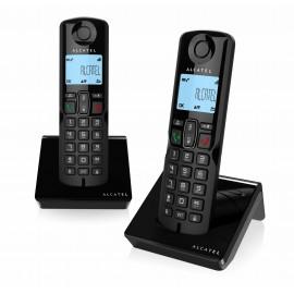 S250 DUO BLACK - TELEFONO INALAM DUO NEGRO ALCATEL