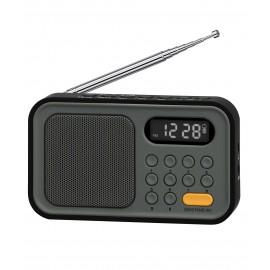 SY1671PL - RADIO BOLSILLO DIG ESTEREO AM/FM PLATA SYTECH