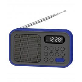 SY1648AZ - RADIO BOLSILLO DIG AM/FM AZUL SYTECH