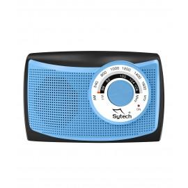 SY1652AZ - RADIO PORTATIL AM/FM AZUL SYTECH
