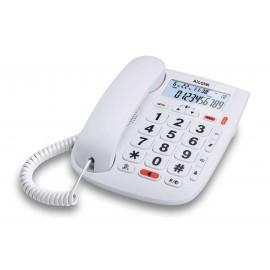 TMAX20 - TELEFONO SOBREMESA BLANCO ALCATEL
