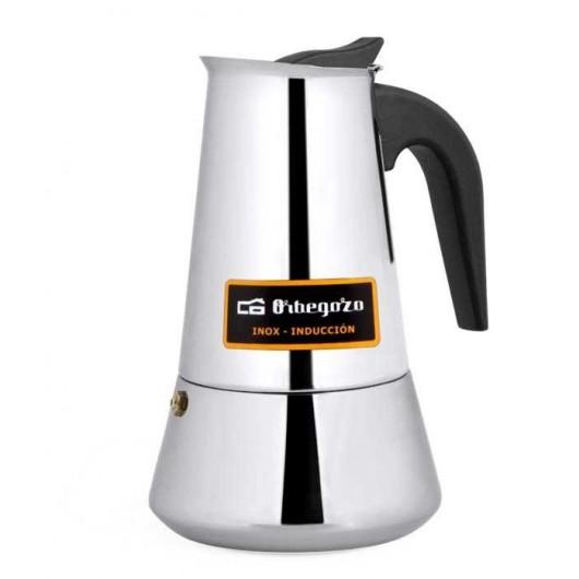 KFI660 - CAFETERA ACERO INOX 6 TAZAS ORBEGOZO