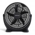 Ventilador industrial de suelo POWER FAN. 5 aspas para un mayor caudal de aire. Diámetro 50cm. 3 velocidades de ventilación. Inc