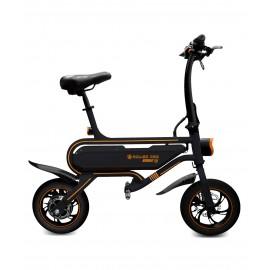 E-Bike ligero y funcional. Características: Luz frontal de inducción. Luz de freno. Manillar de fácil plegado. Motor Brushless s
