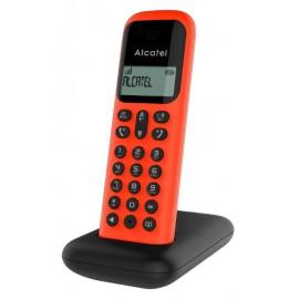 D285 RED-BLACK - TELEFONO INALAM ROJO NEGRO ALCATEL