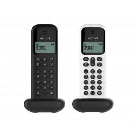 D285 DUO WH-BL - TELEFONO INALAM BLANCO NEGRO ALCATEL