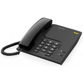T26 - TELEFONO SOBREMESA Y MONTAJE MURAL NEGRO ALCATEL