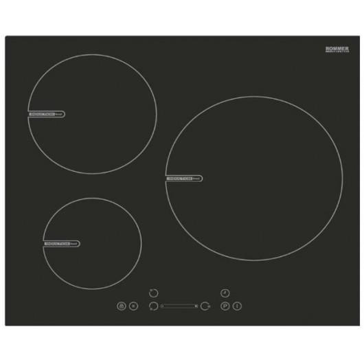 INDU61 - PLACA INDUCCION 3F TACTIL ROMMER