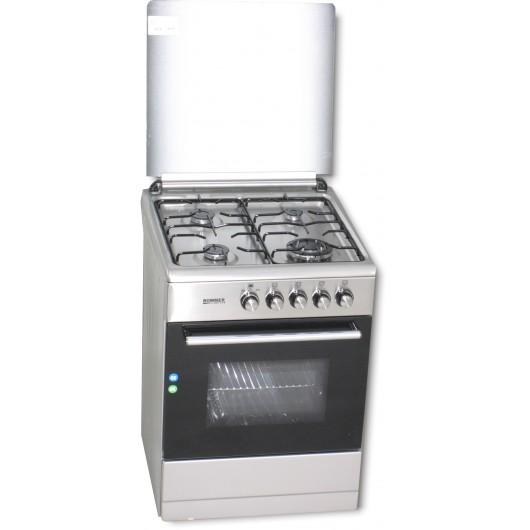 VCH606FG - COCINA GAS 4F INOX 60X64 ROMMER