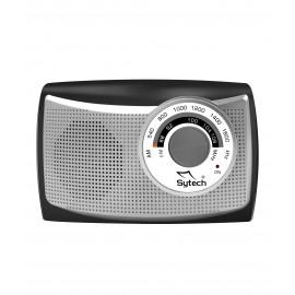 SY1652PL - RADIO PORTATIL AM/FM PLATA SYTECH